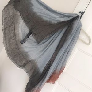 New Zara linen scarf.